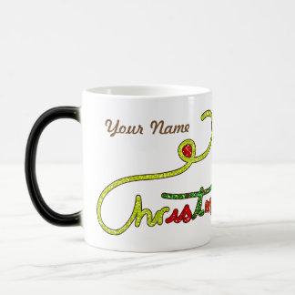 Christmas Personalised Morphing Mug