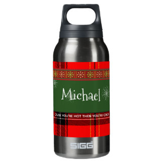CHRISTMAS PERSONALIZED HOT & COLD BOTTLE