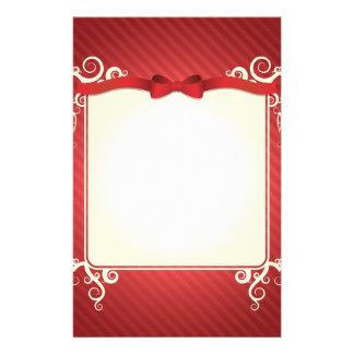 Christmas Personalized Stationery