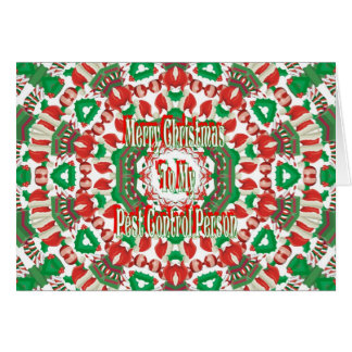 Christmas Pest Control Card