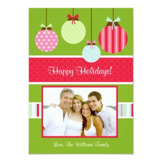 Christmas Photo Card 13 Cm X 18 Cm Invitation Card