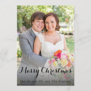 greeting christmas christmas wedding announcements newlywed