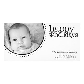 Christmas Photo Card - Modern, Minimal