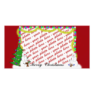 Christmas Photo Card or Photo Gift Tag