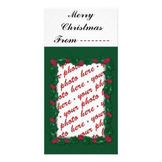 Christmas Photo Card or Photo Gift Tag Custom Photo Card