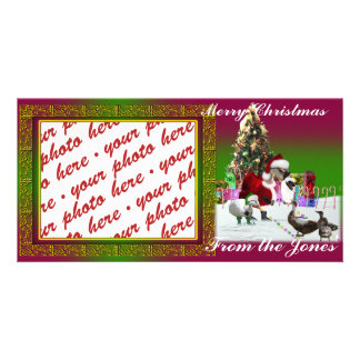 Christmas Photo Card or Photo Gift Tag Picture Card