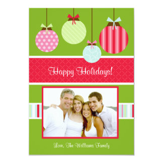 Christmas Photo Card Personalized Invitations