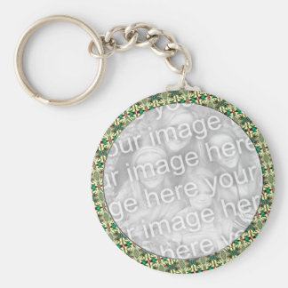 Christmas Photo Frame Key Ring