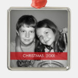 Christmas Photo Frame - Modern Christmas Tree Ornament