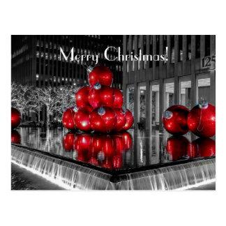 Christmas Photo @ Rockefeller Center New York City Postcard