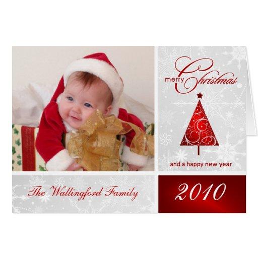 Christmas Photo Template Card - Merry Christmas