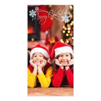 Christmas PhotoCard Add your photo Customized Photo Card