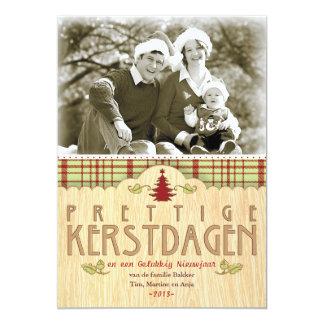 Christmas photograph wish card