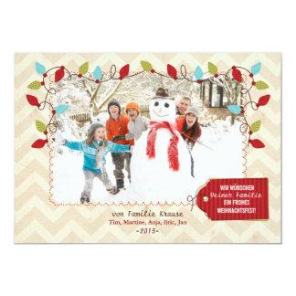 Christmas photomap card