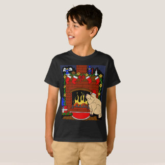 Christmas Pig T-shirt kids