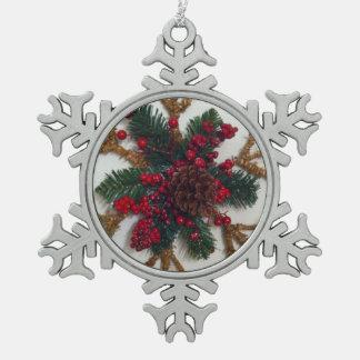 Christmas Pine Cone Decoration Ornament