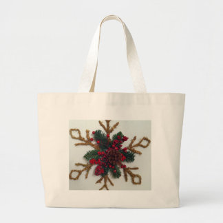 Christmas Pine Cone Decoration Bags