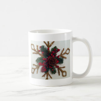 Christmas Pine Cone Decoration Mug