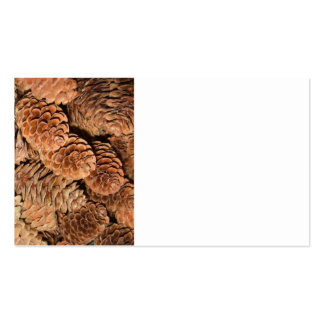 Christmas Pine Cones Business Cards