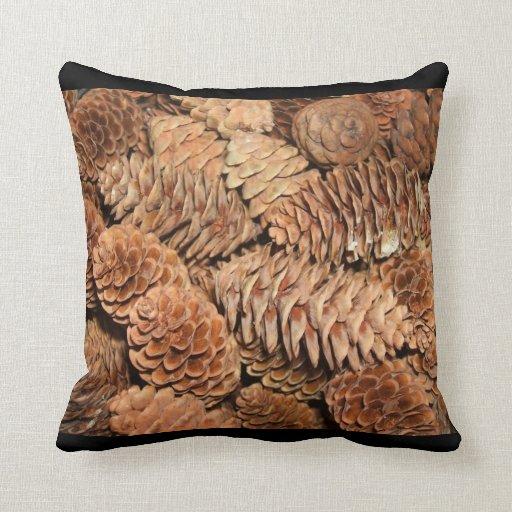 Christmas Pine Cones Pillow