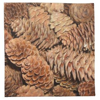 Christmas Pine Cones Napkins