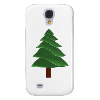 Christmas Pine Galaxy S4 Cases