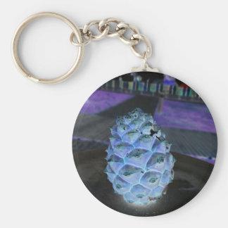christmas pine key ring