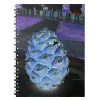 christmas pine spiral notebook