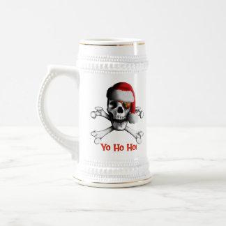 Christmas Pirate Stein / Mug