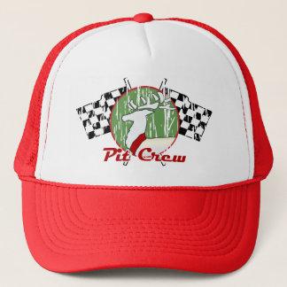 Christmas Pit Crew Trucker Hat