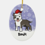 Christmas Pitbull / American Staffordshire Terrier