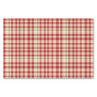 Christmas Plaid 20-TISSUE WRAPPING PAPER