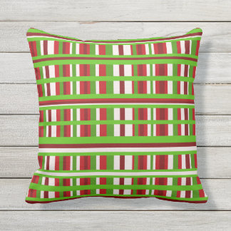 Christmas Plaid Cushion