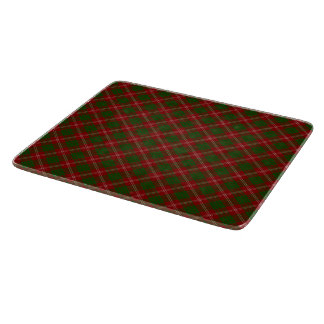 Christmas Plaid Cutting Board