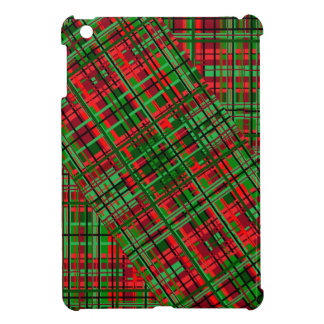 Christmas plaid i-pad mini case iPad mini case