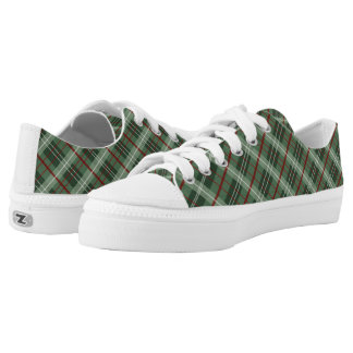Christmas Plaid Low Tops