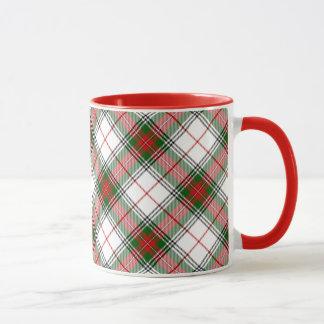 Christmas Plaid ~ Personalized Mug