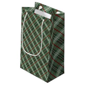 Christmas Plaid Small Gift Bag