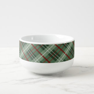 Christmas Plaid Soup Mug