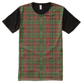 Christmas plaid t-shirt