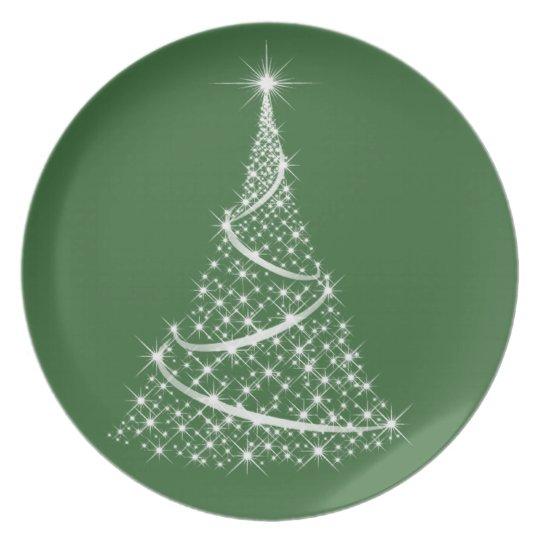 Christmas Plate - choose your colour