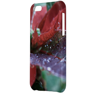 Christmas Poinsettia Cover For iPhone 5C