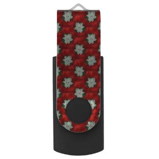Christmas Poinsettia USB Flash Drive