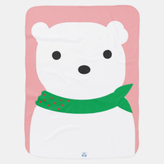 Christmas Polar Bear Blanket