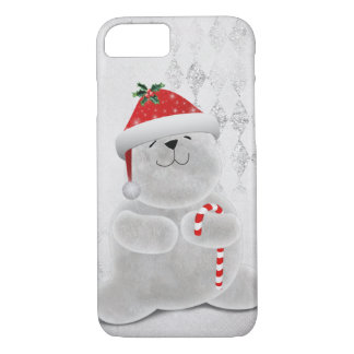 Christmas Polar Bear iPhone 8/7 Case