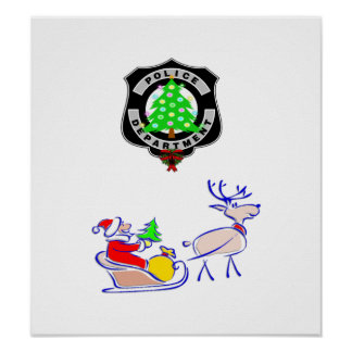 Christmas Police Gifts Poster