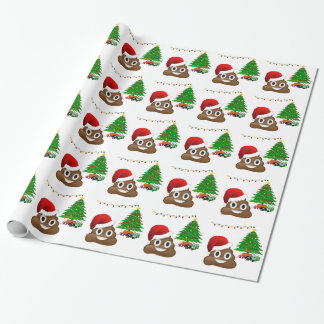 christmas poo emoji