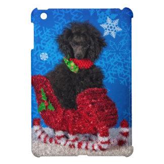 Christmas Poodle iPad Mini Case