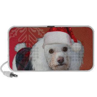Christmas poodle travelling speaker