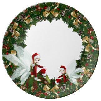 Christmas porcelain Plate